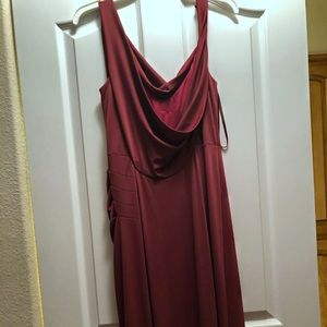 BCBG Dresses - BCBG Lena draped gown